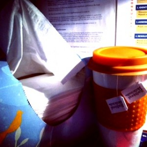 Tea and tissues