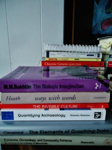 Bubye to some grad school reads...