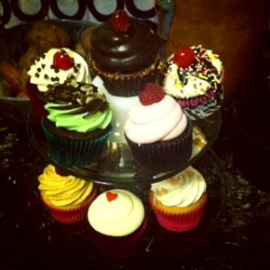 Cupcake carby overload!