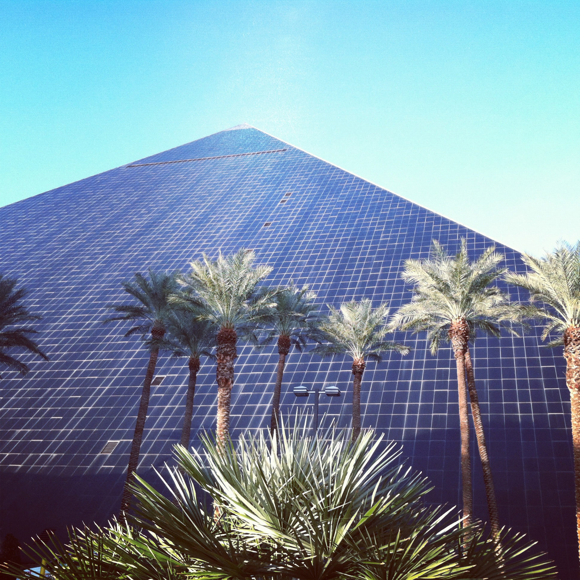 Our Luxor-ious accommodations. Meh.