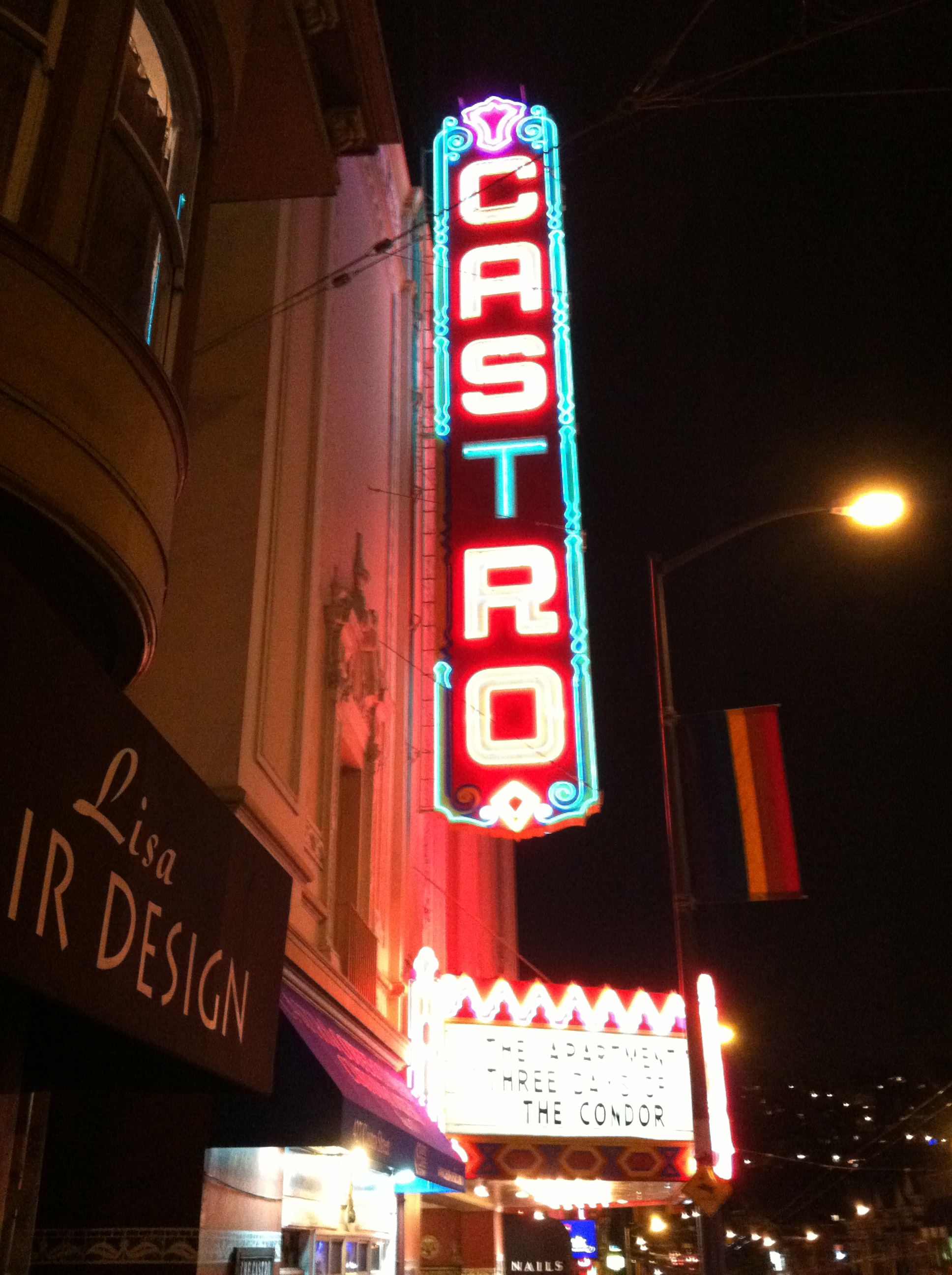 The Castro. The perfect place to spend our first evening.