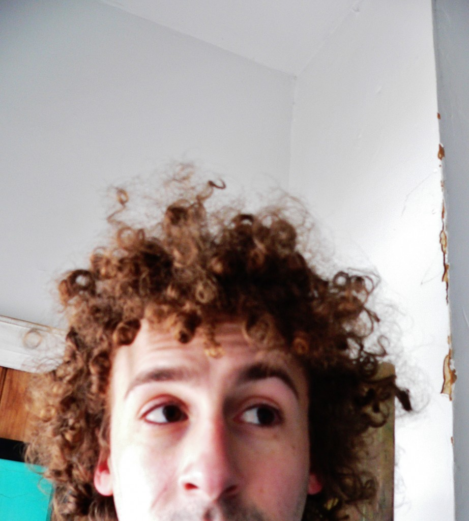 Oh, Chia Pet hair. How unwieldy ye are.