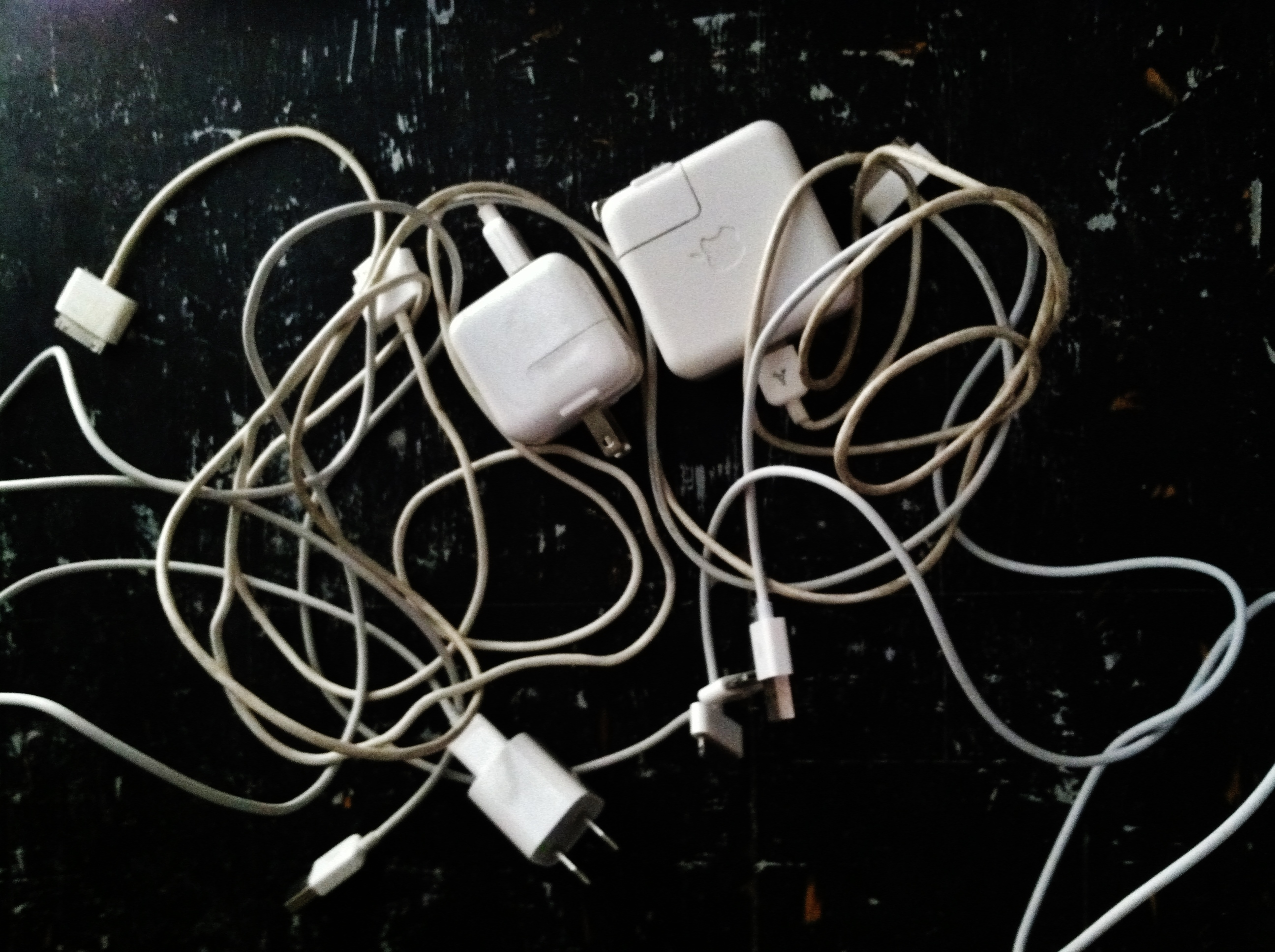 The cords, the cords!